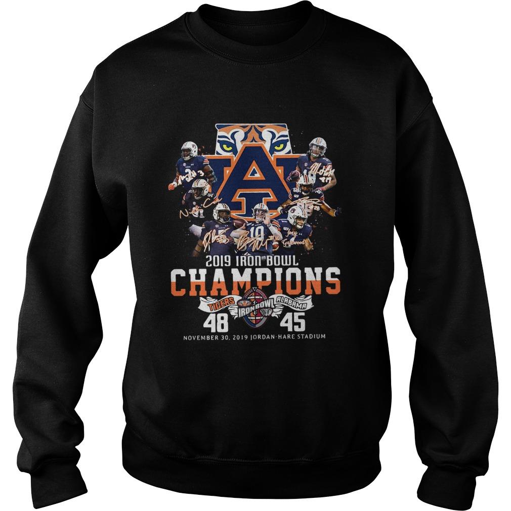 2019 Iron Bowl Champions 2019 Auburn Tigers Alabama  Sweatshirt