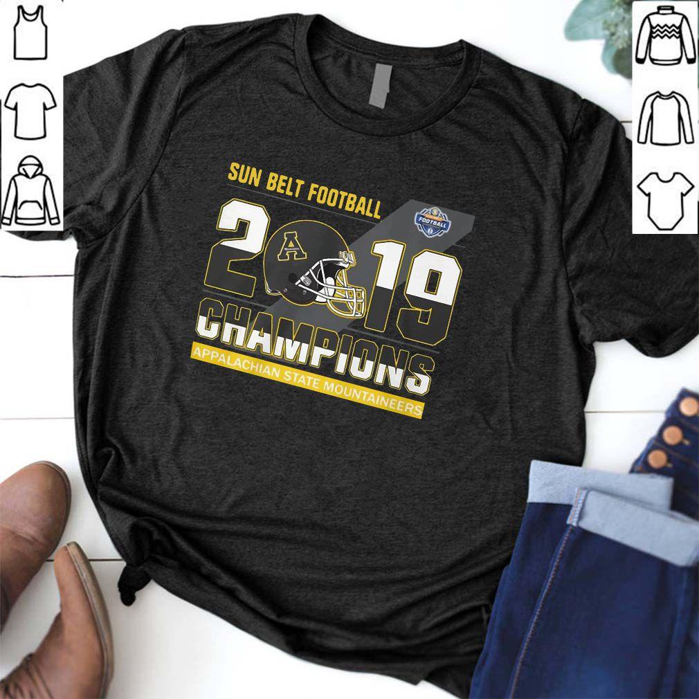 Appalachian State Mountaineers sun belt football champions Shirt T-Shirt