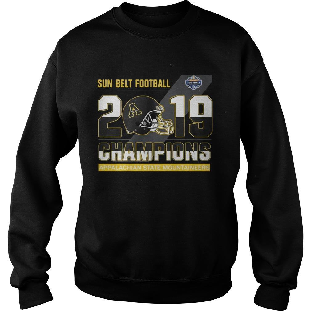 Appalachian State Mountaineers sun belt football champions  Sweatshirt