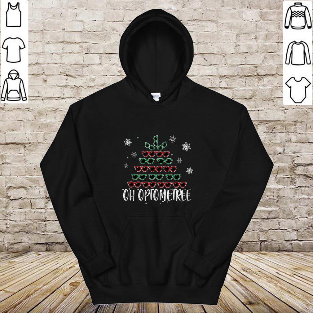 Awesome Oh Optometree Sunglasses Christmas Tree Christmas Design shirt