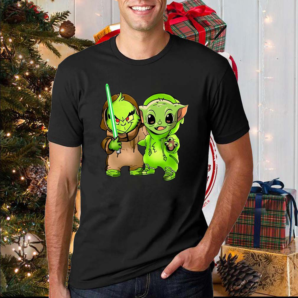 Baby Yoda and Baby Grinch T-Shirt