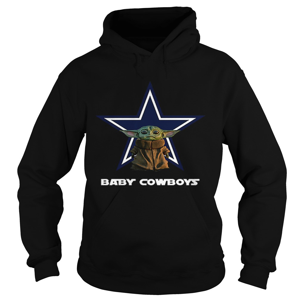 Baby Yoda Baby Cowboys Dallas Cowboys  Hoodie