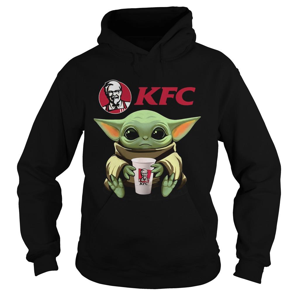 Baby Yoda Hug KFC  Hoodie