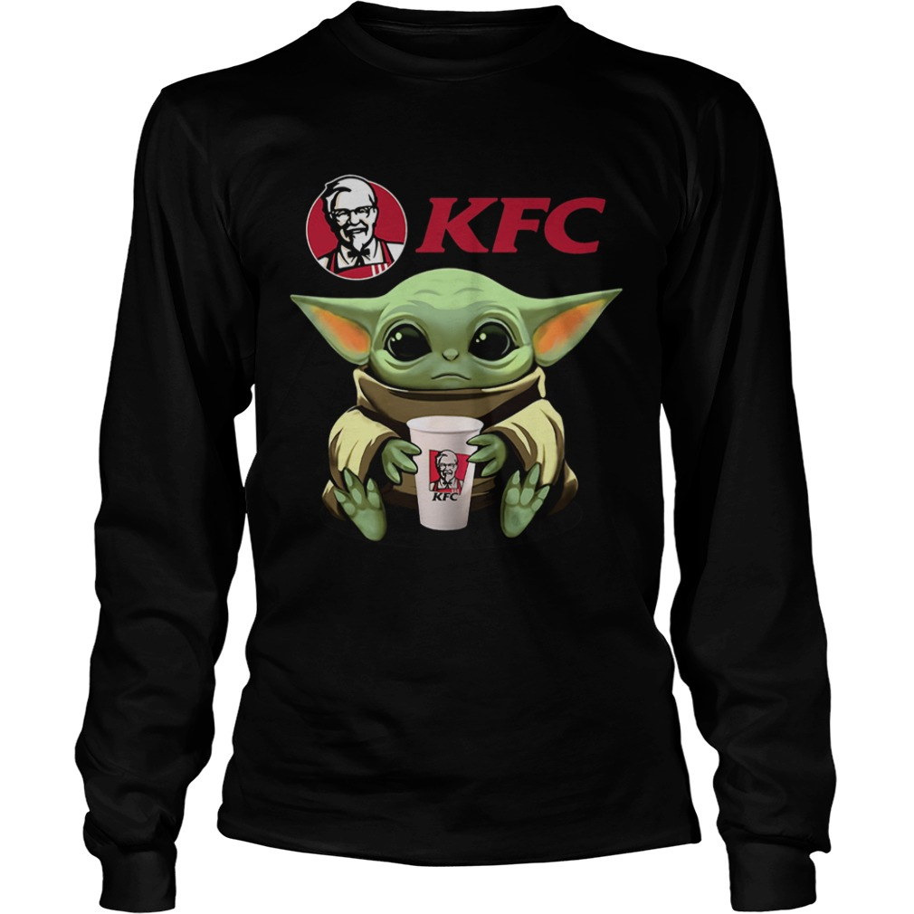 Baby Yoda Hug KFC  LongSleeve