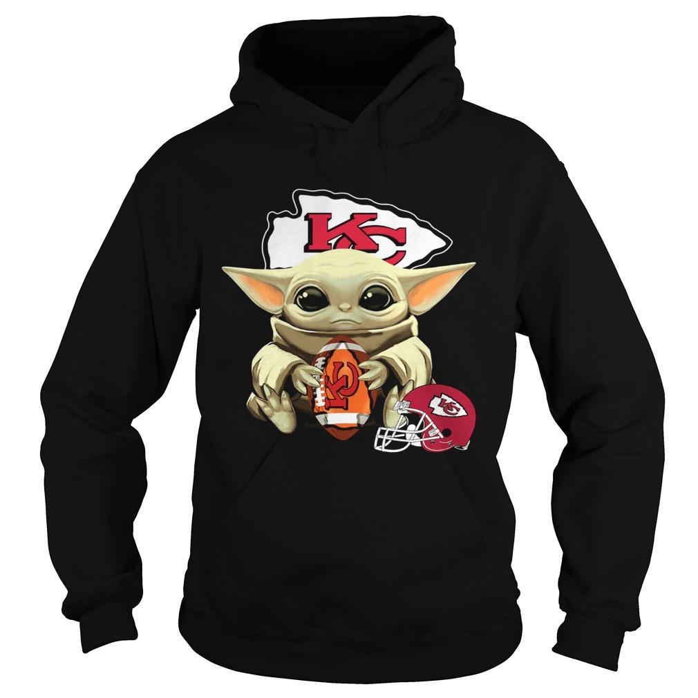Baby Yoda Kansas City Chiefs  Hoodie