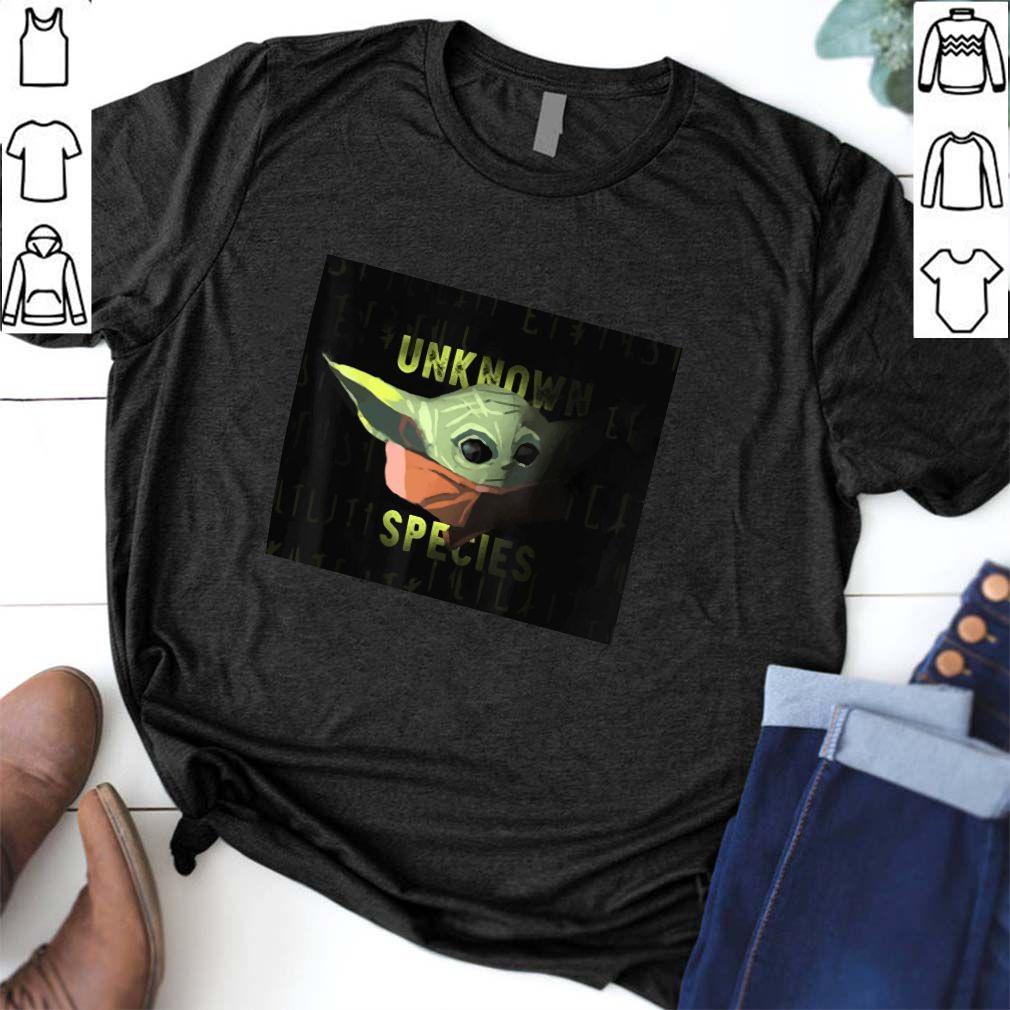 Baby Yoda The Child Unknown Species Tee Shirt