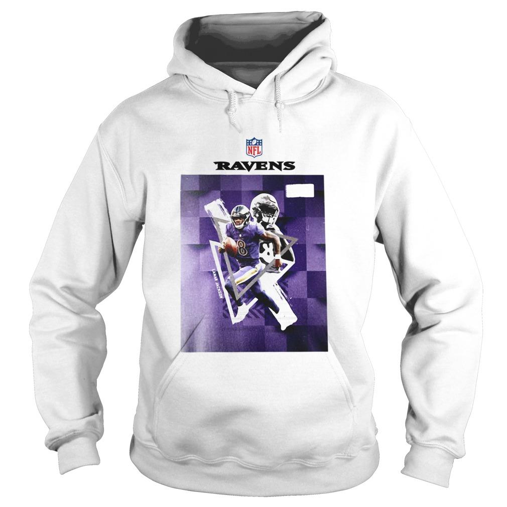 Baltimore Ravens Lamar Jackson 8  Hoodie