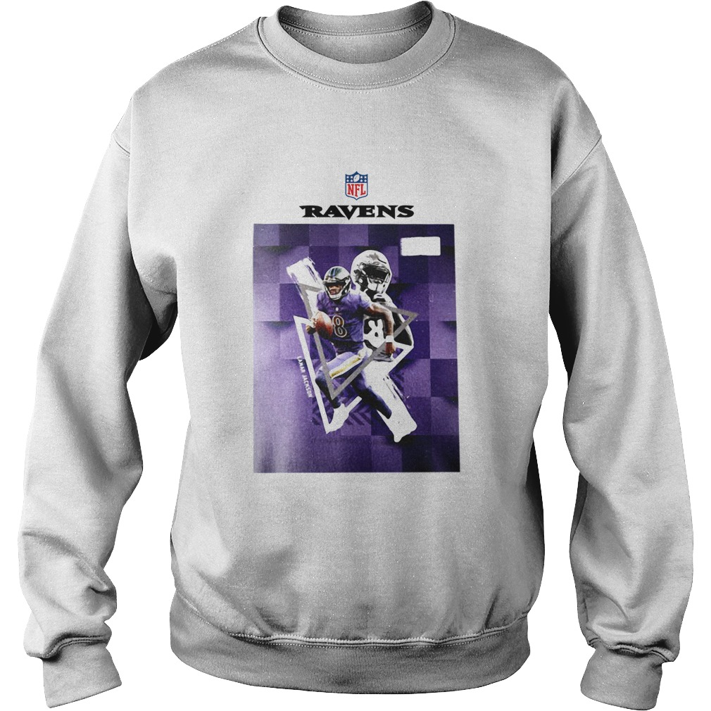 Baltimore Ravens Lamar Jackson 8  Sweatshirt