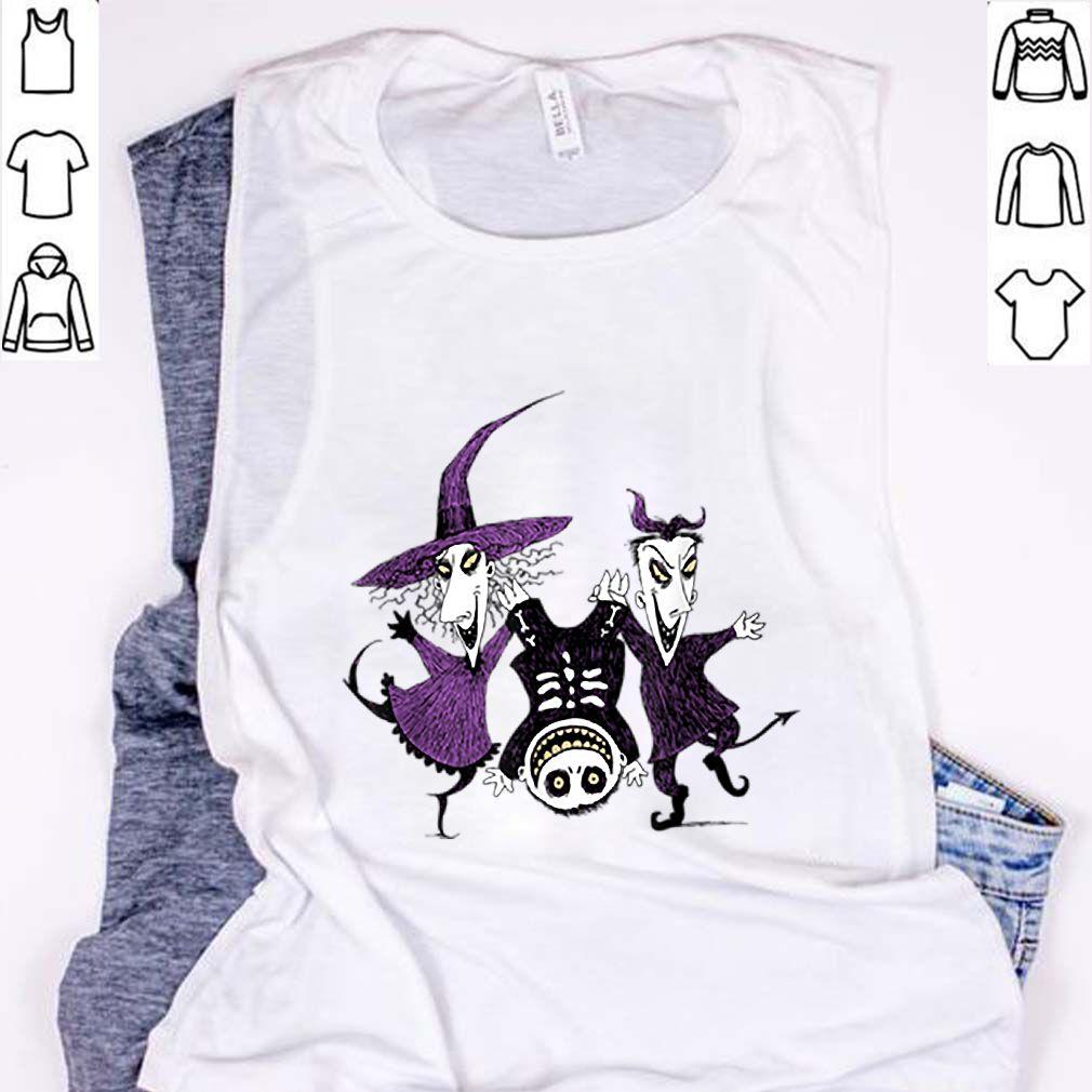 Beautiful Disney Halloween Nightmare Before Christmas Trick or Treat sweater