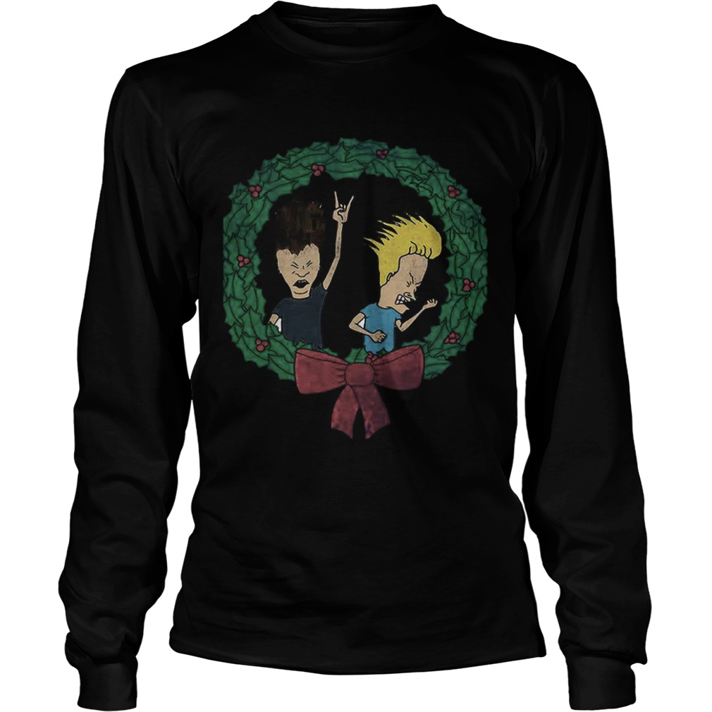 Beavis And Butthead Christmas  LongSleeve