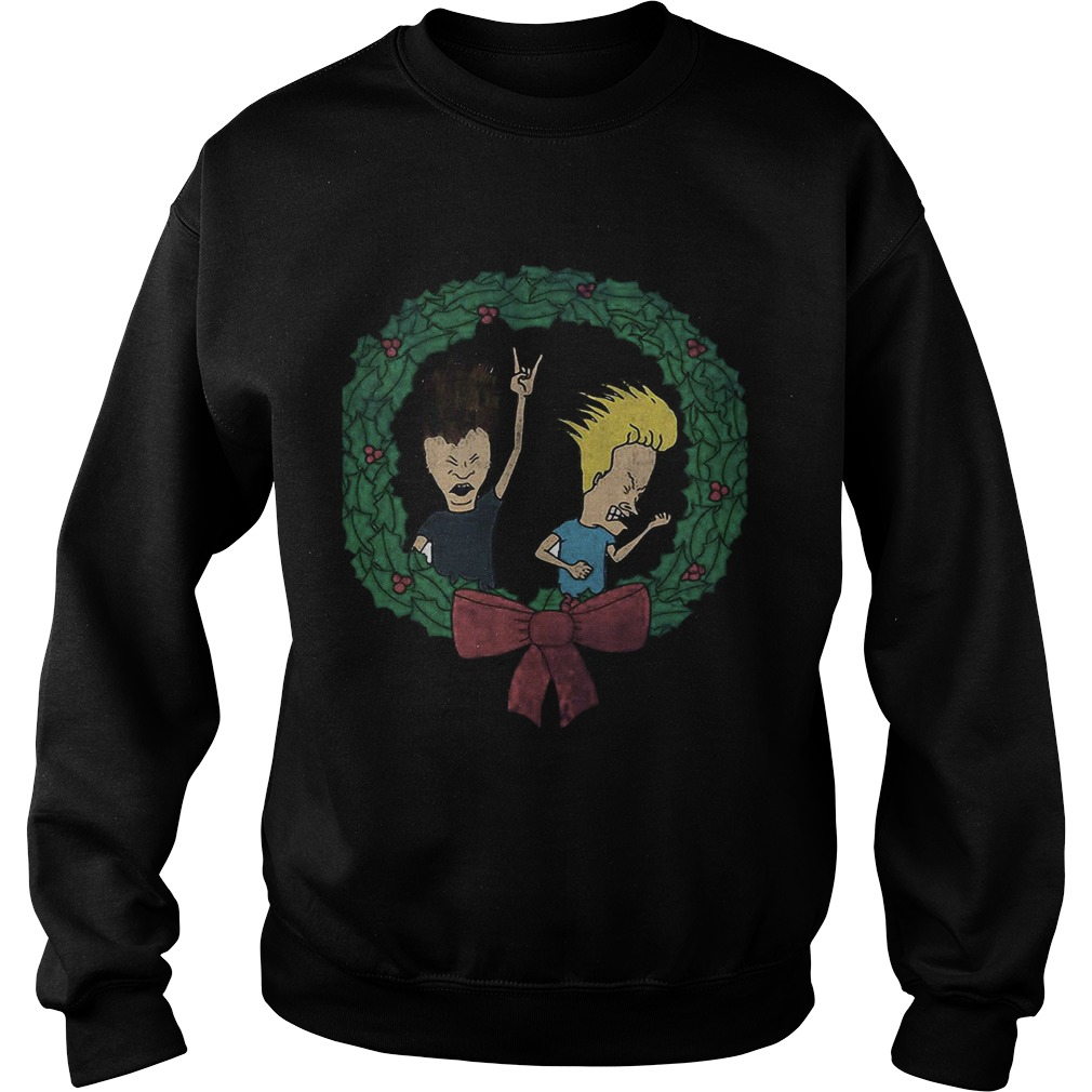 Beavis And Butthead Christmas  Sweatshirt