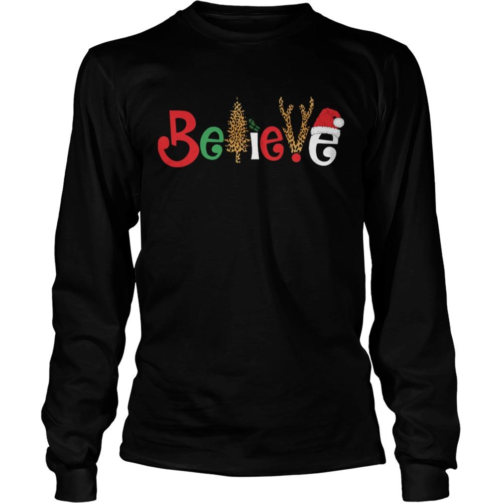 Believe Christmas  LongSleeve
