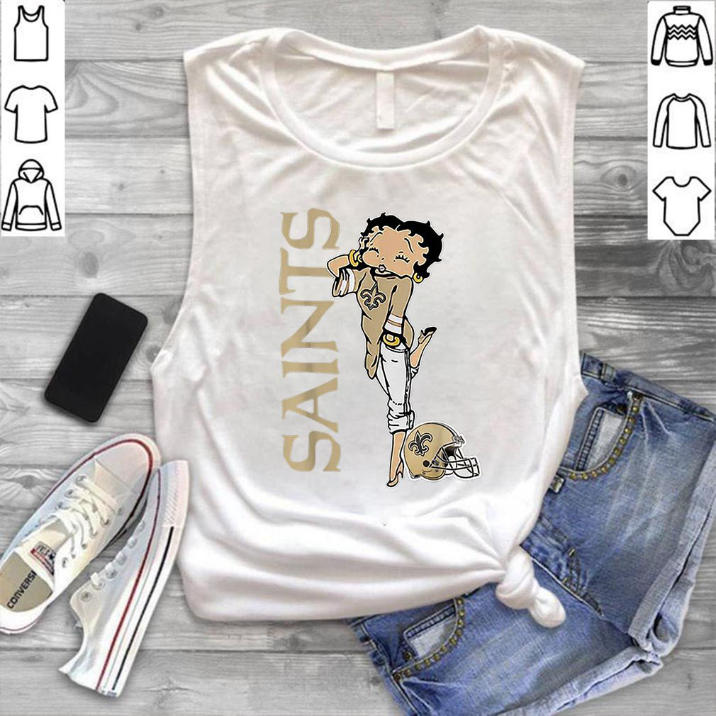 Betty Boop New Orleans Saints shirt