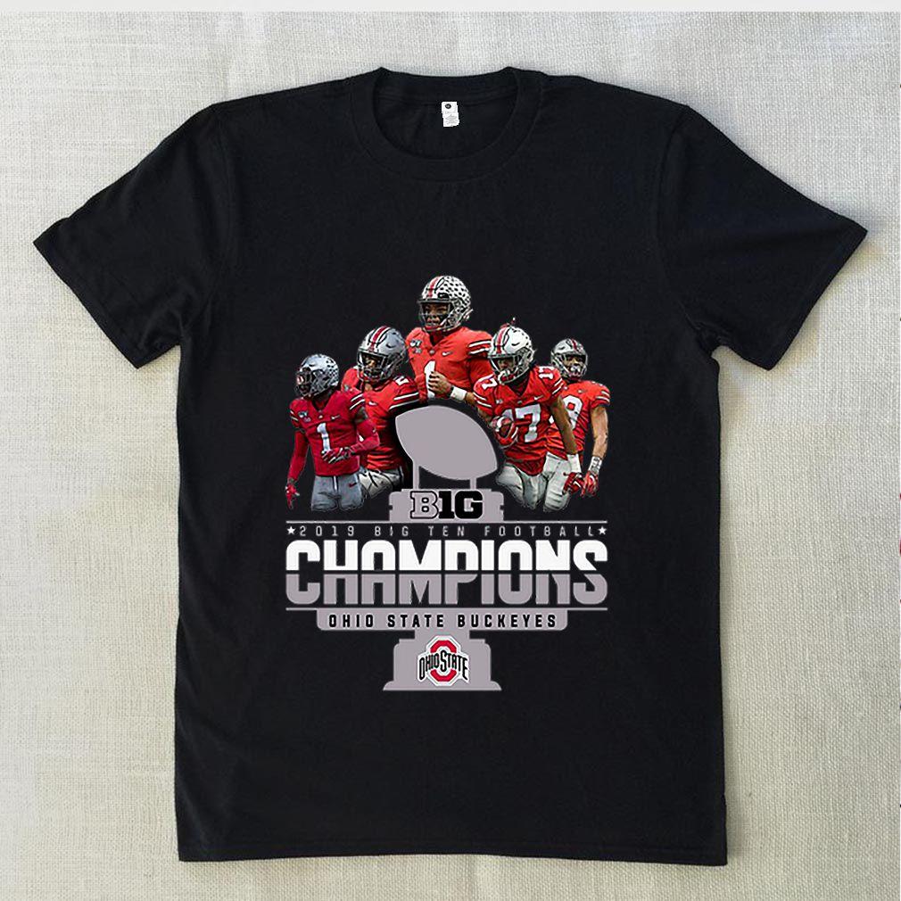 Big 2019 Big Ten Football Champions Ohio State Buckeyes shirt