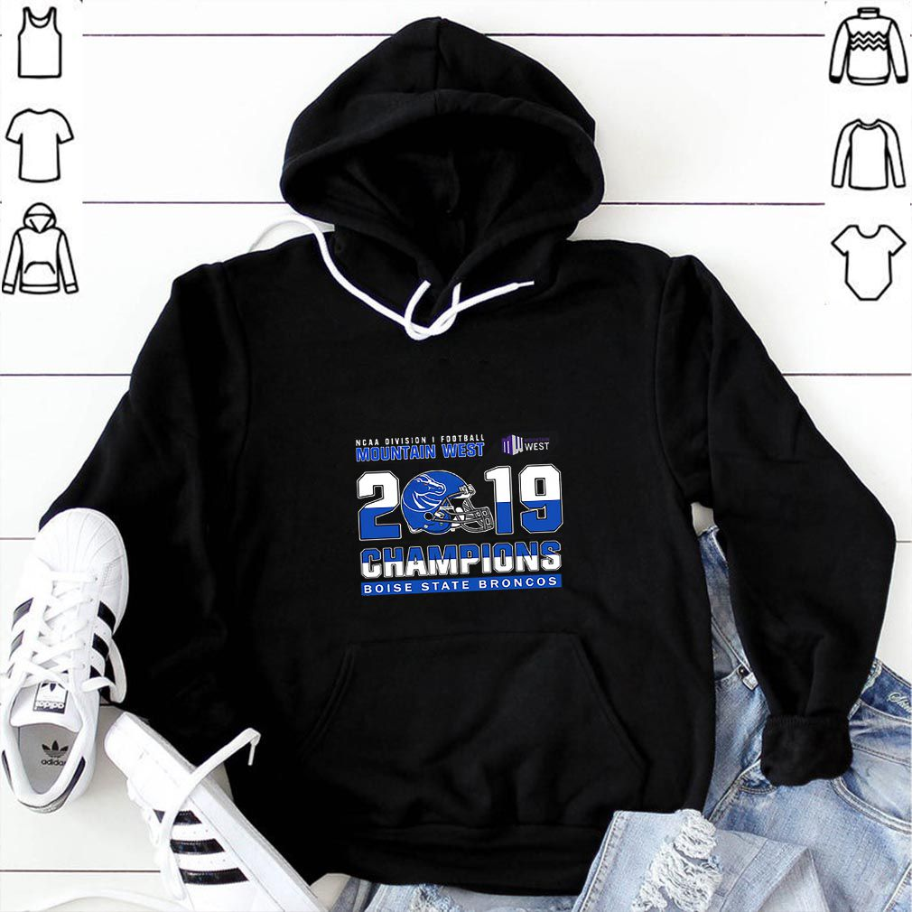 Boise State Broncos ncaa division football mountain west 2019 champions sweater