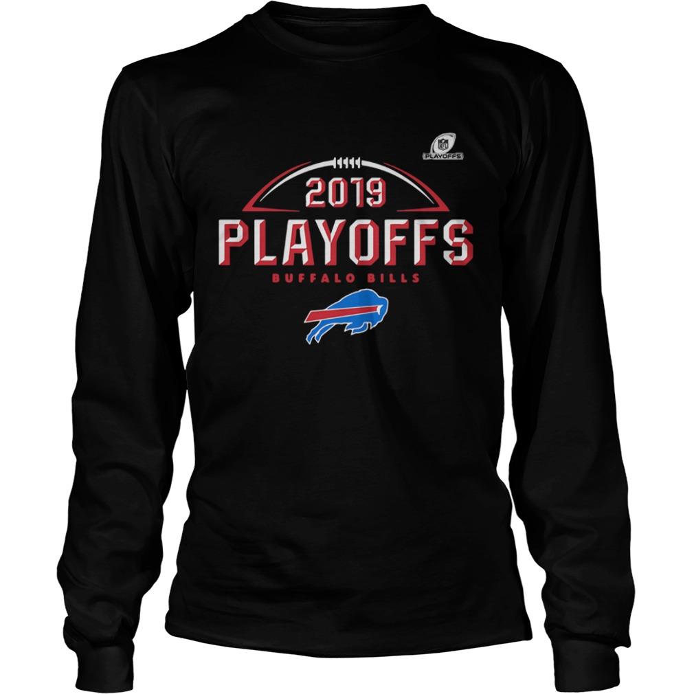 Buffalo Bills 2019 NFL Playoffs Bound Chip Shot  LongSleeve