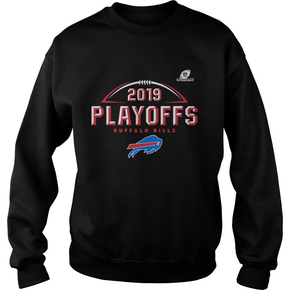 Buffalo Bills 2019 NFL Playoffs Bound Chip Shot  Sweatshirt