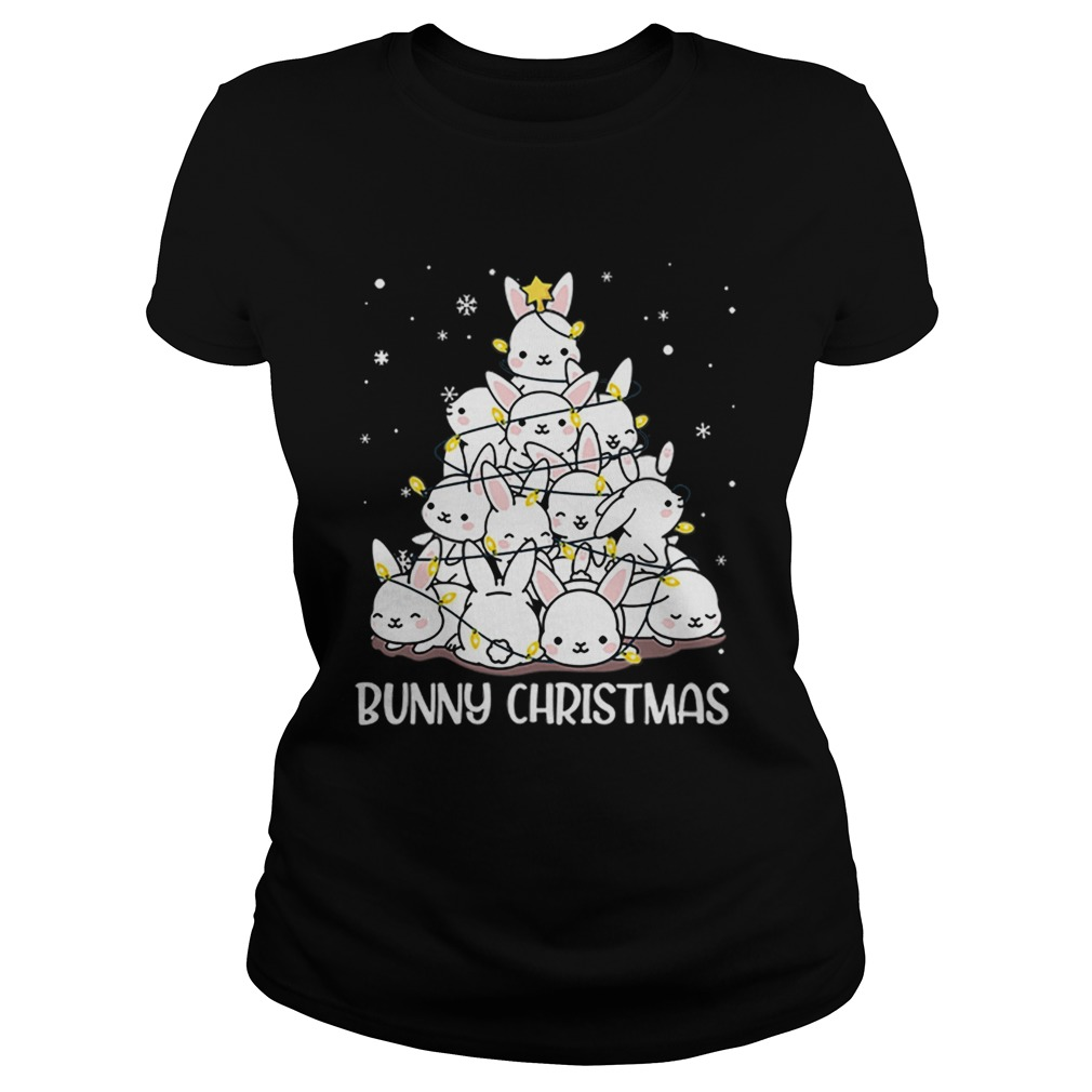 Bunny Rabbit Christmas tree  Classic Ladies