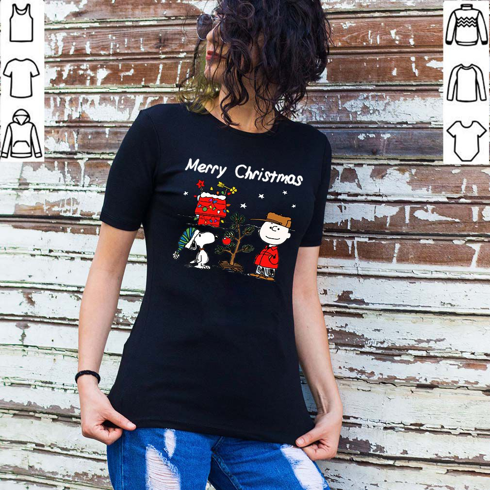 Charlie Brown Christmas Graphic T-Shirt Snoopy Xmas Tee
