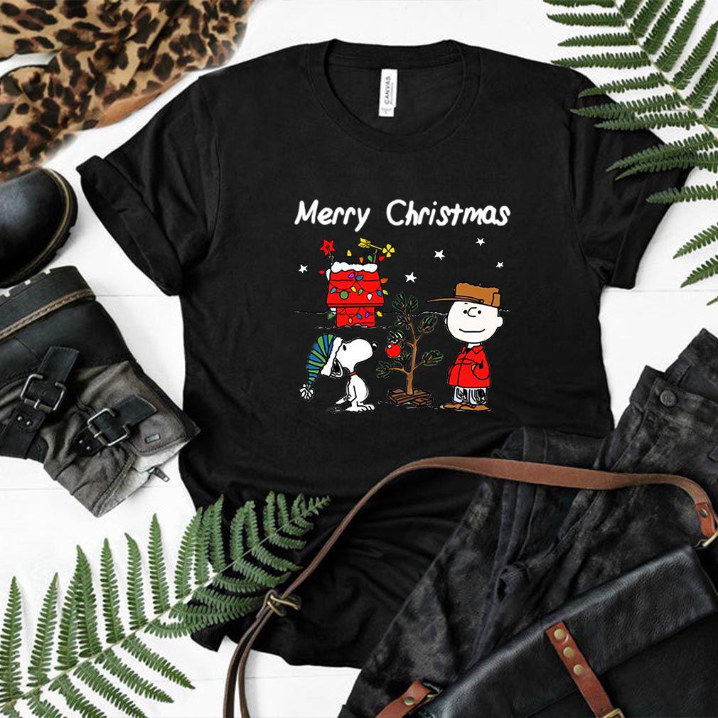 Charlie Brown Christmas Graphic T-Shirt Snoopy Xmas Tee