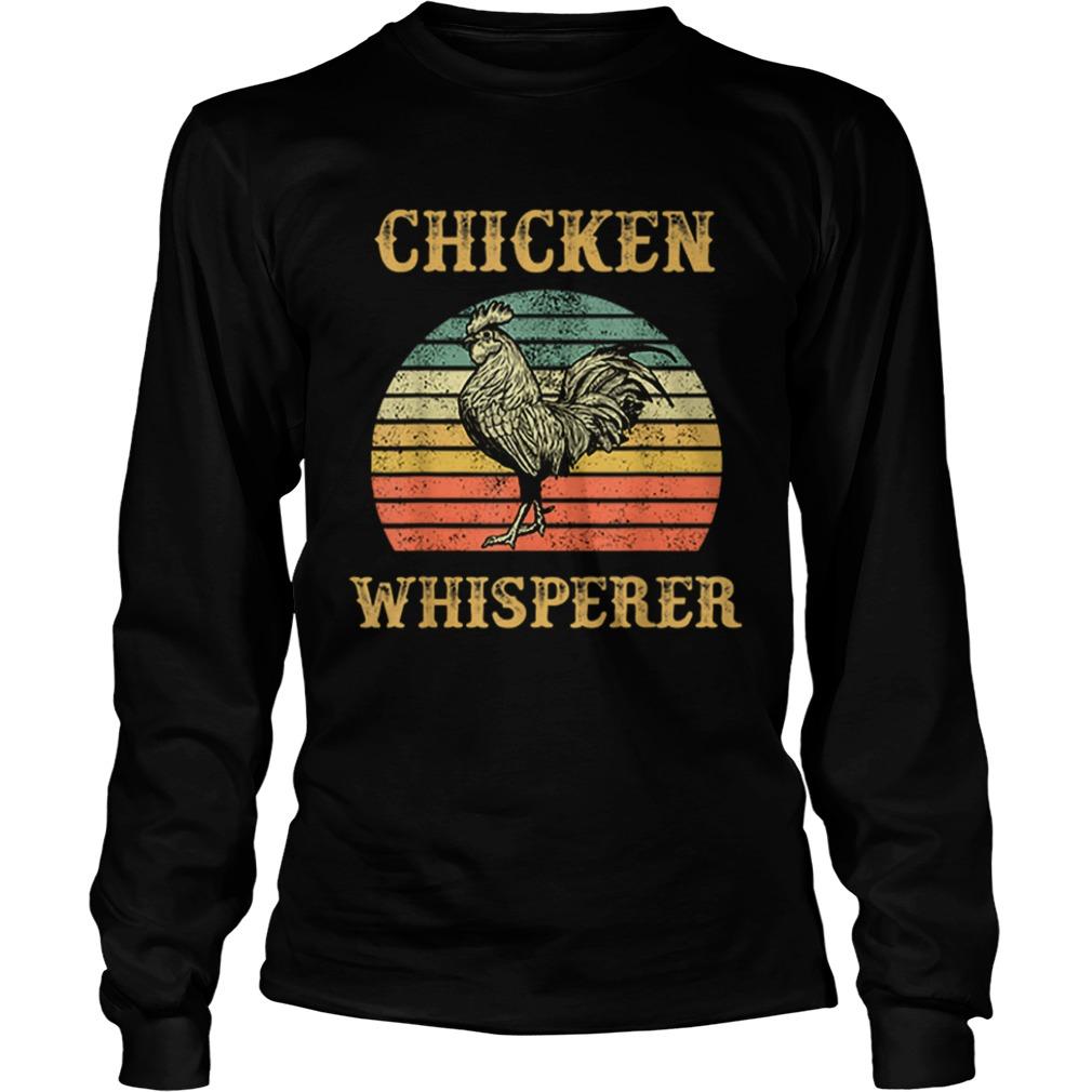 Chicken Whisperer Vintage  LongSleeve