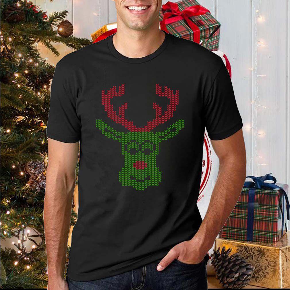 Christmas Deer Ugly T-Shirt