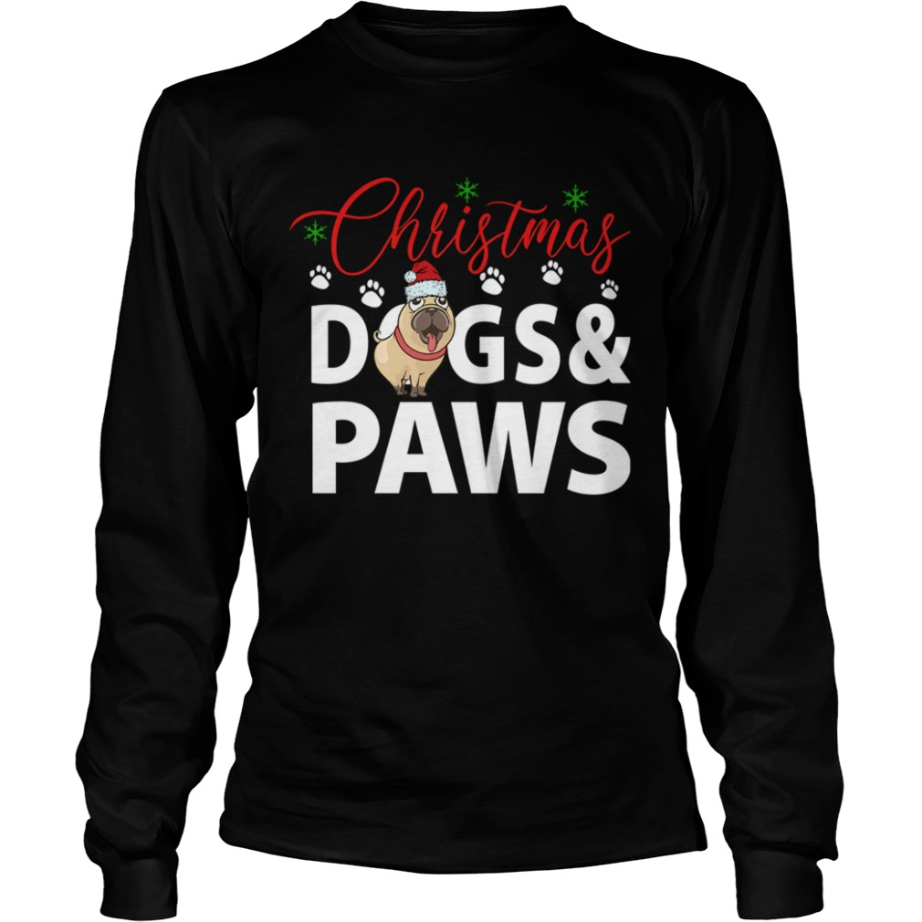 Christmas DogsPaws  LongSleeve