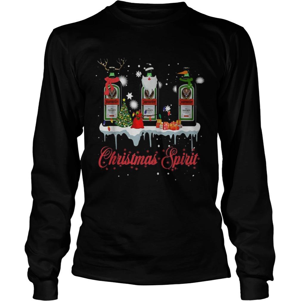 Christmas Spirit Jagermeister Whisky  LongSleeve