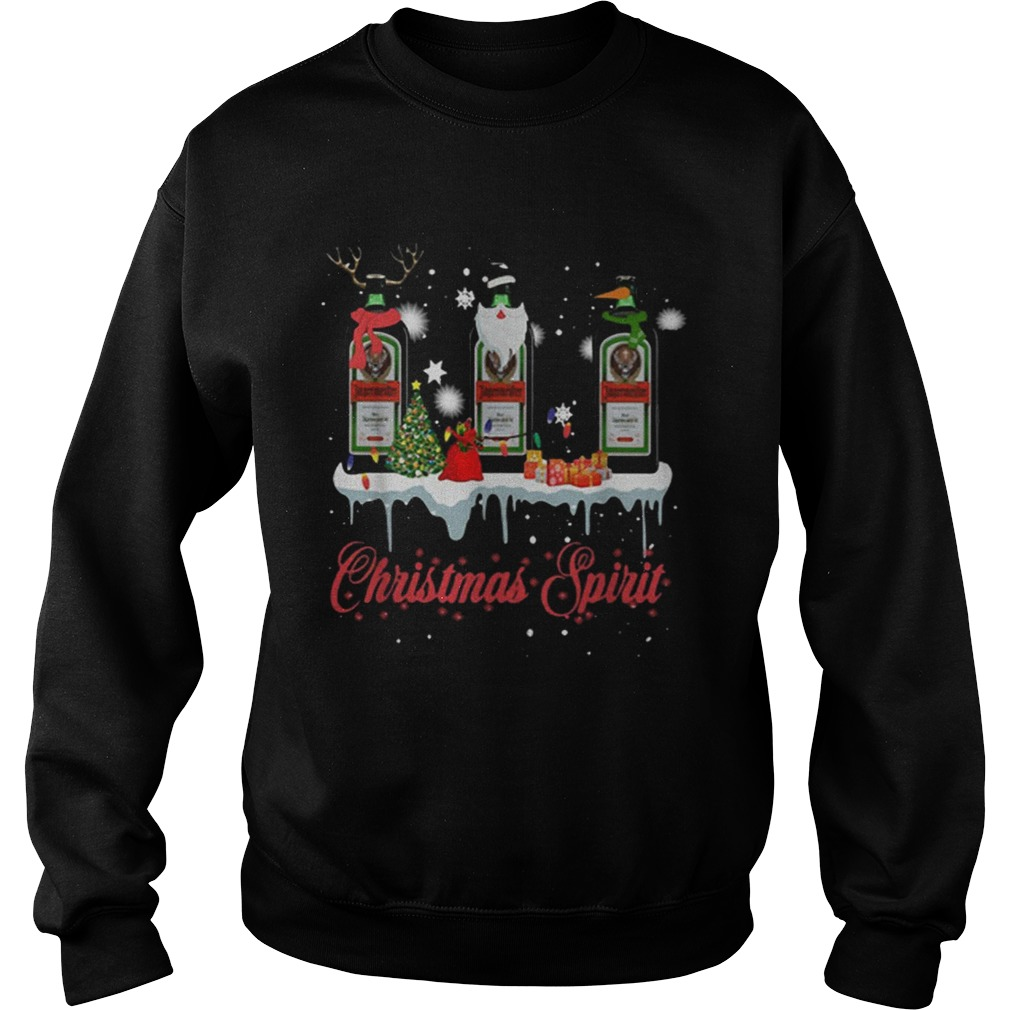 Christmas Spirit Jagermeister Whisky  Sweatshirt