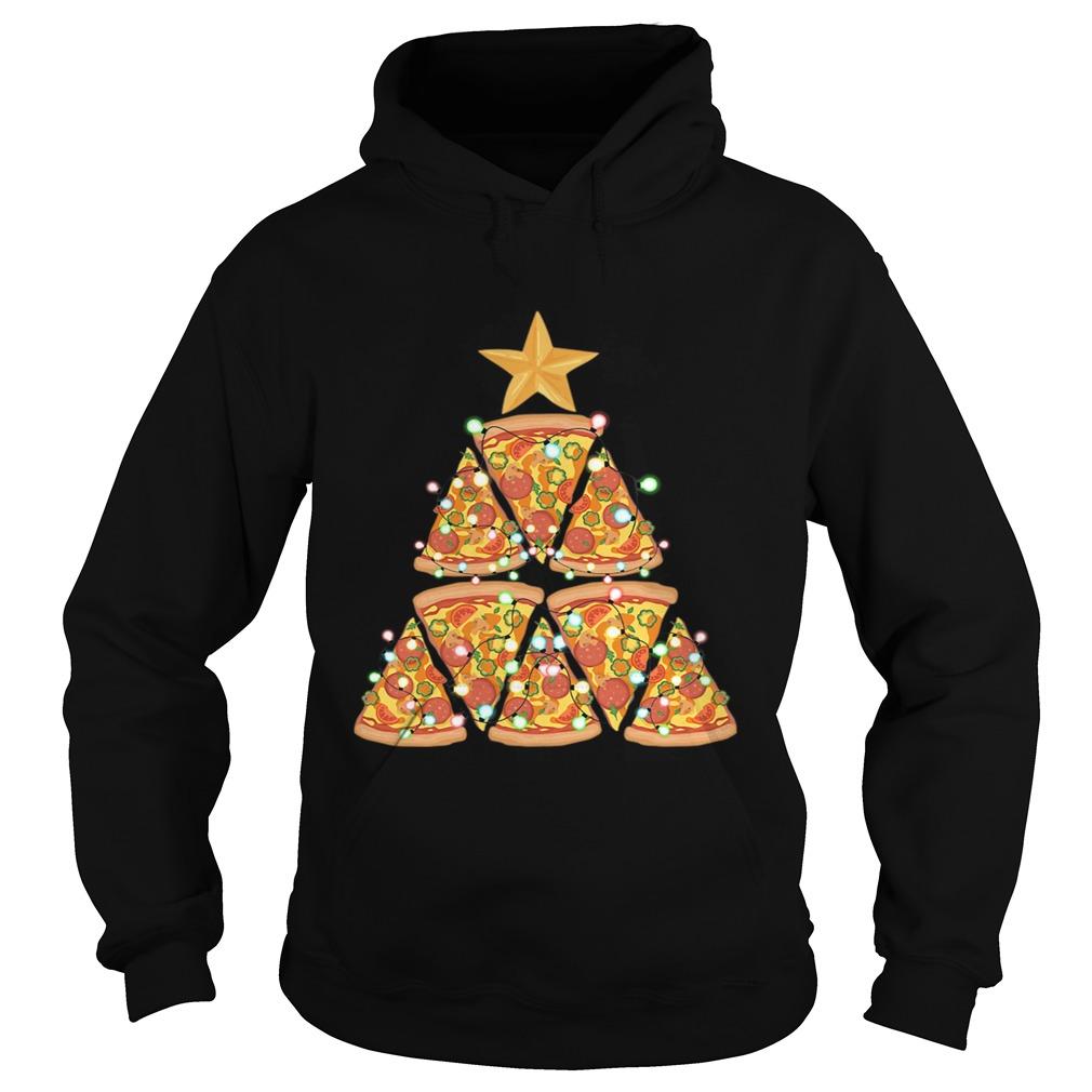 Christmas Tree Pizza  Hoodie