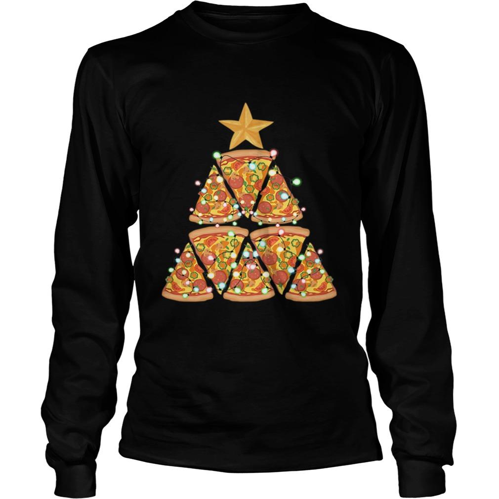 Christmas Tree Pizza  LongSleeve