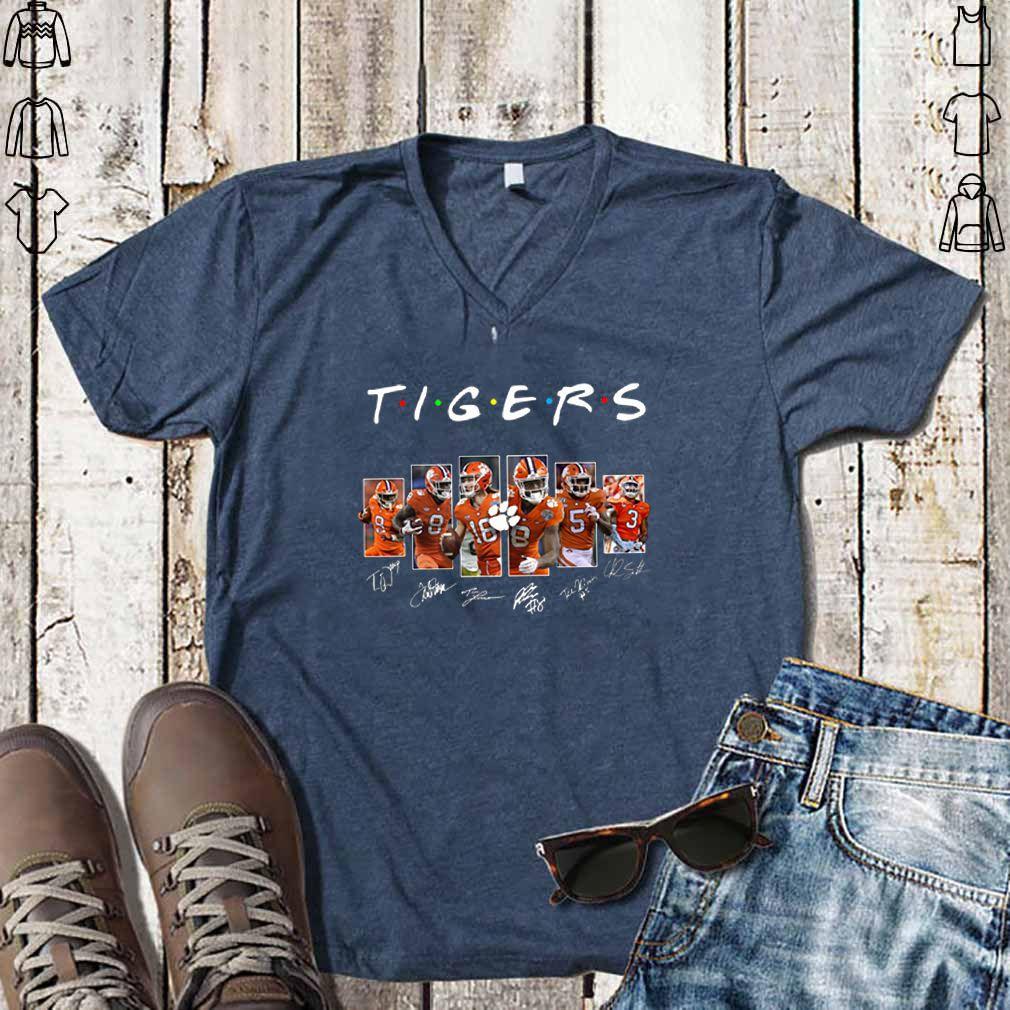 Clemson Tigers Friends Signatures shirt