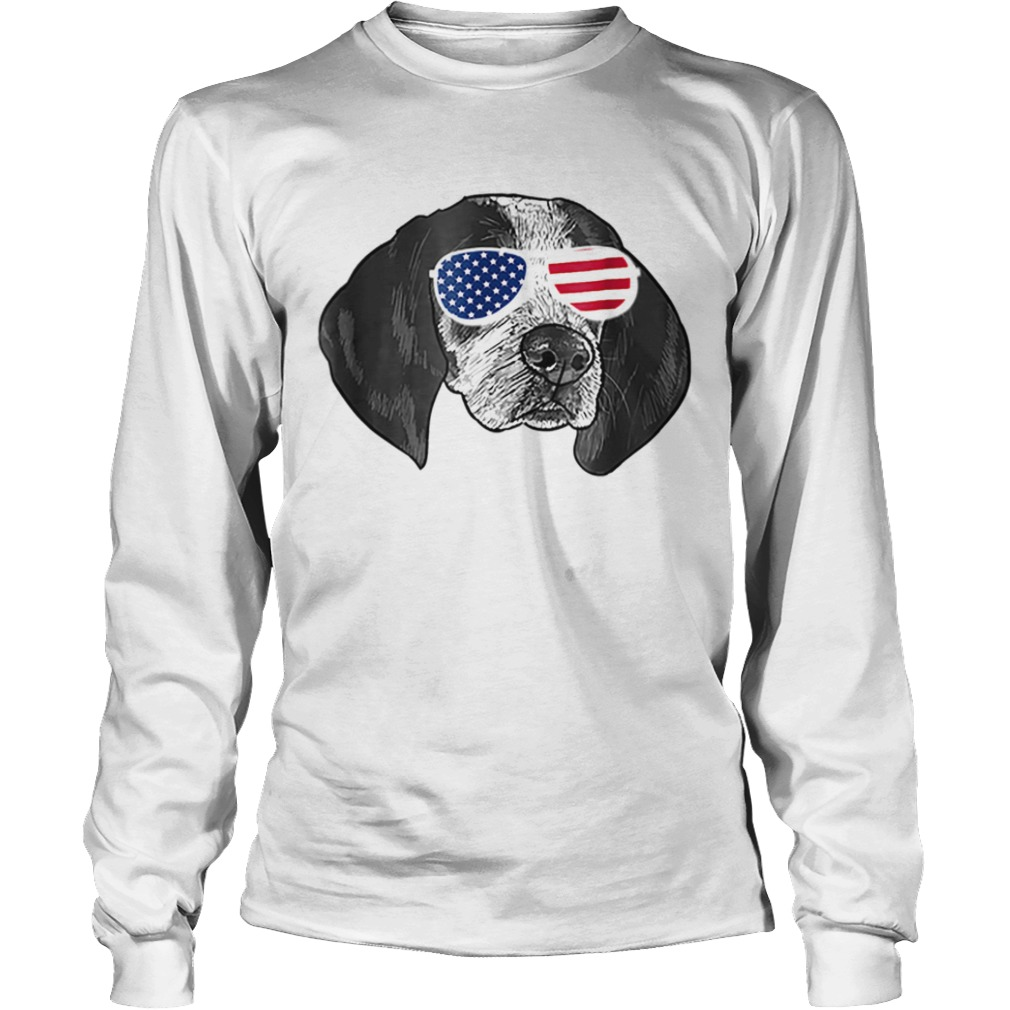 Coonhound American glasses  LongSleeve