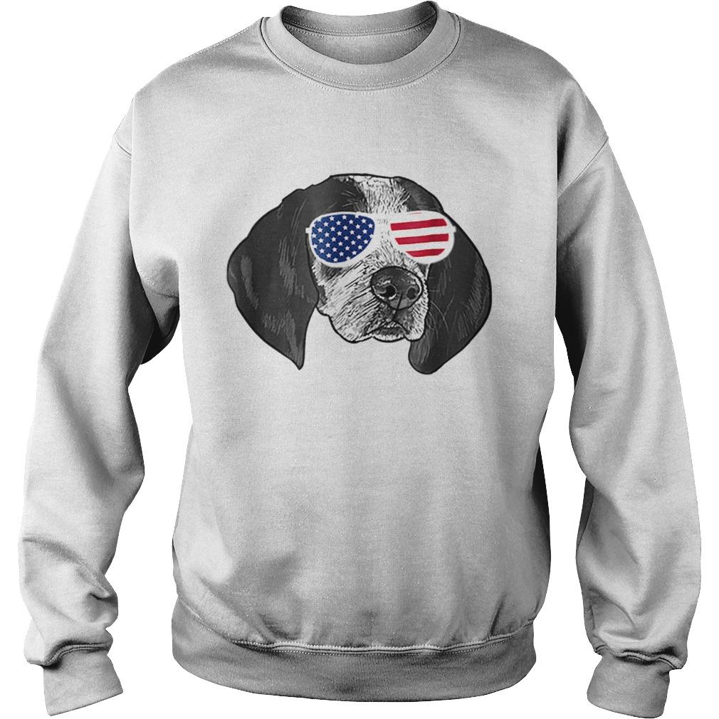 Coonhound American glasses  Sweatshirt