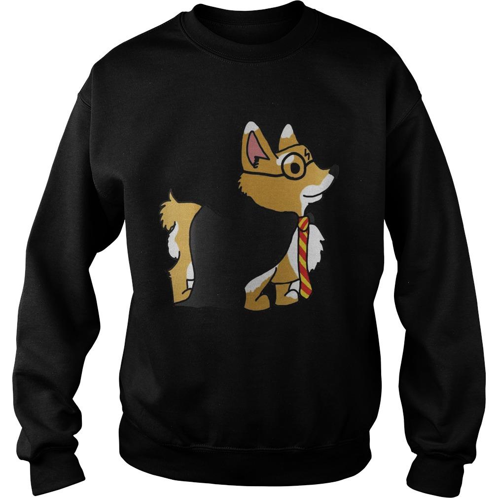 Corgi Potter Harry Potter  Sweatshirt