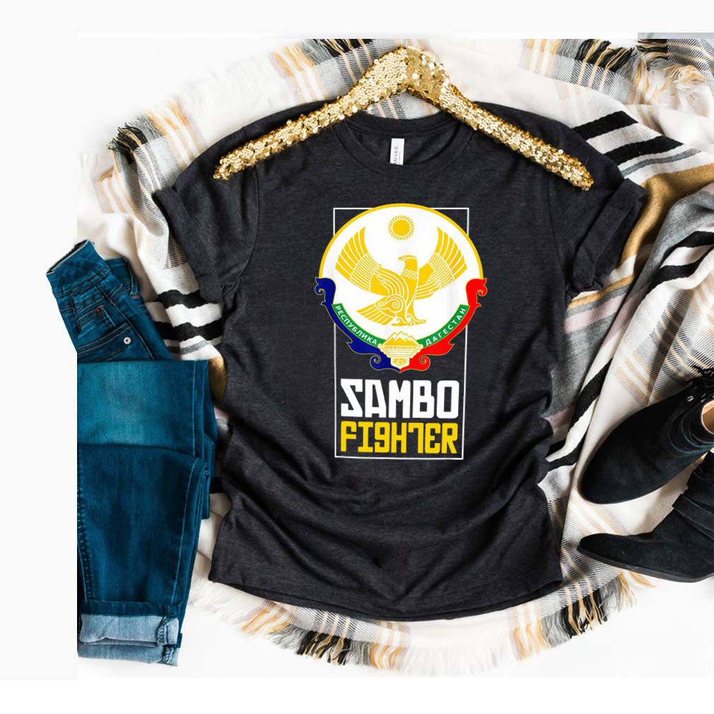 Dagestan Sambo Fighter. Proud Dagestan Eagle Shirt