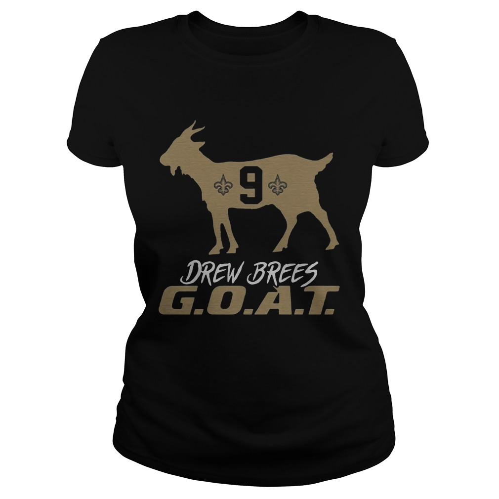 Drew Brees Goat  Classic Ladies
