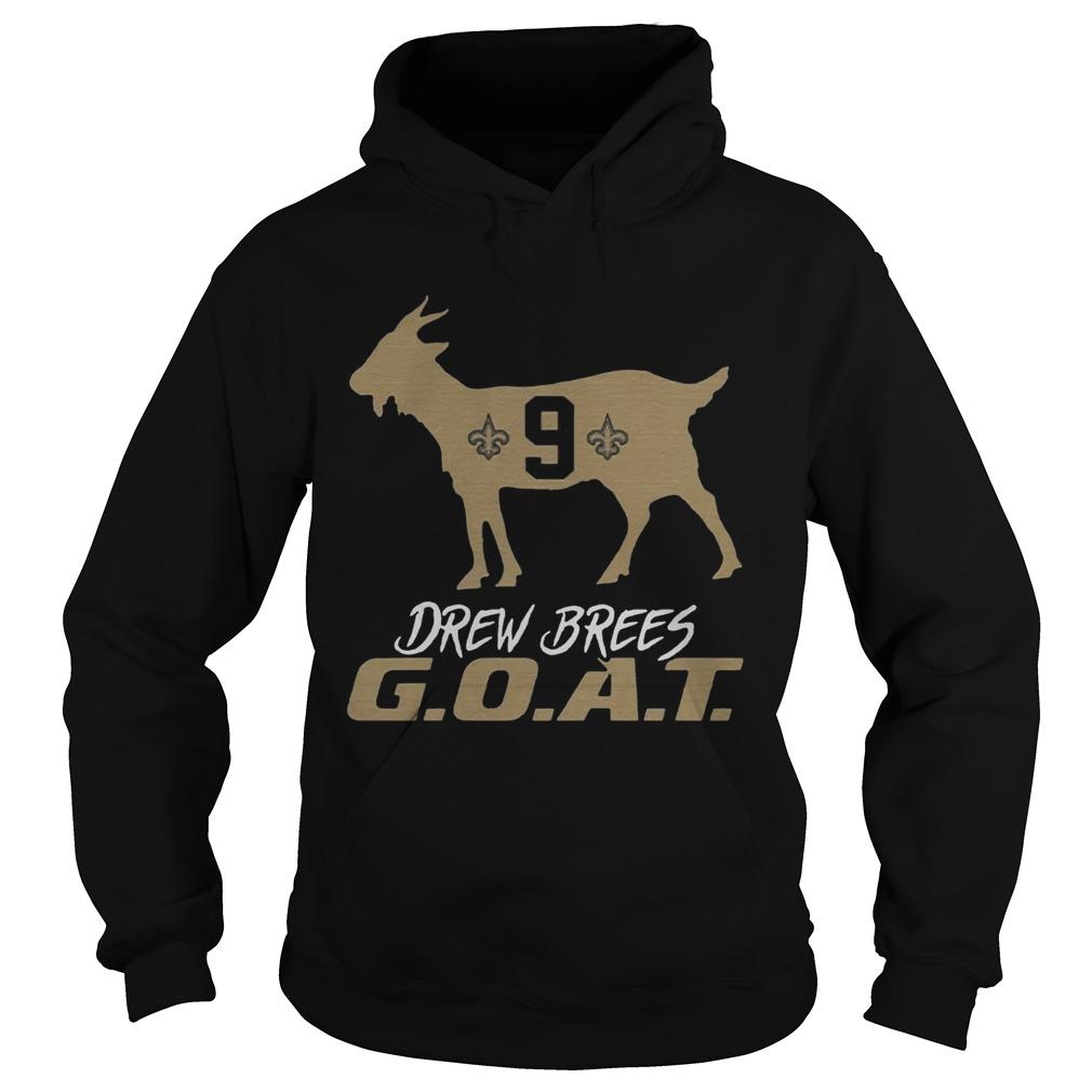 Drew Brees Goat  Hoodie