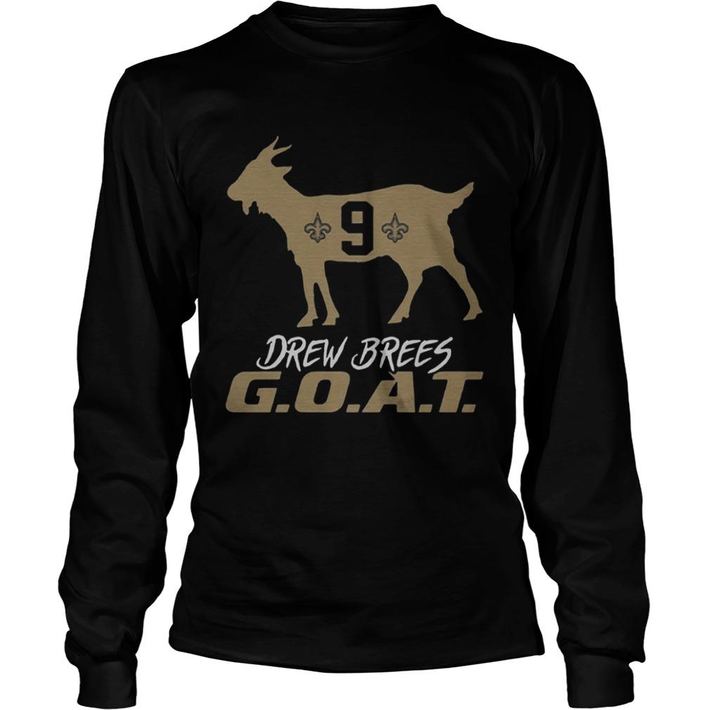 Drew Brees Goat  LongSleeve