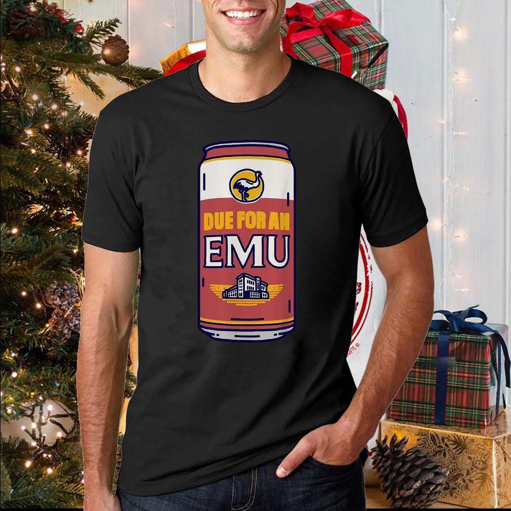 Due for an EMU sweatshirt