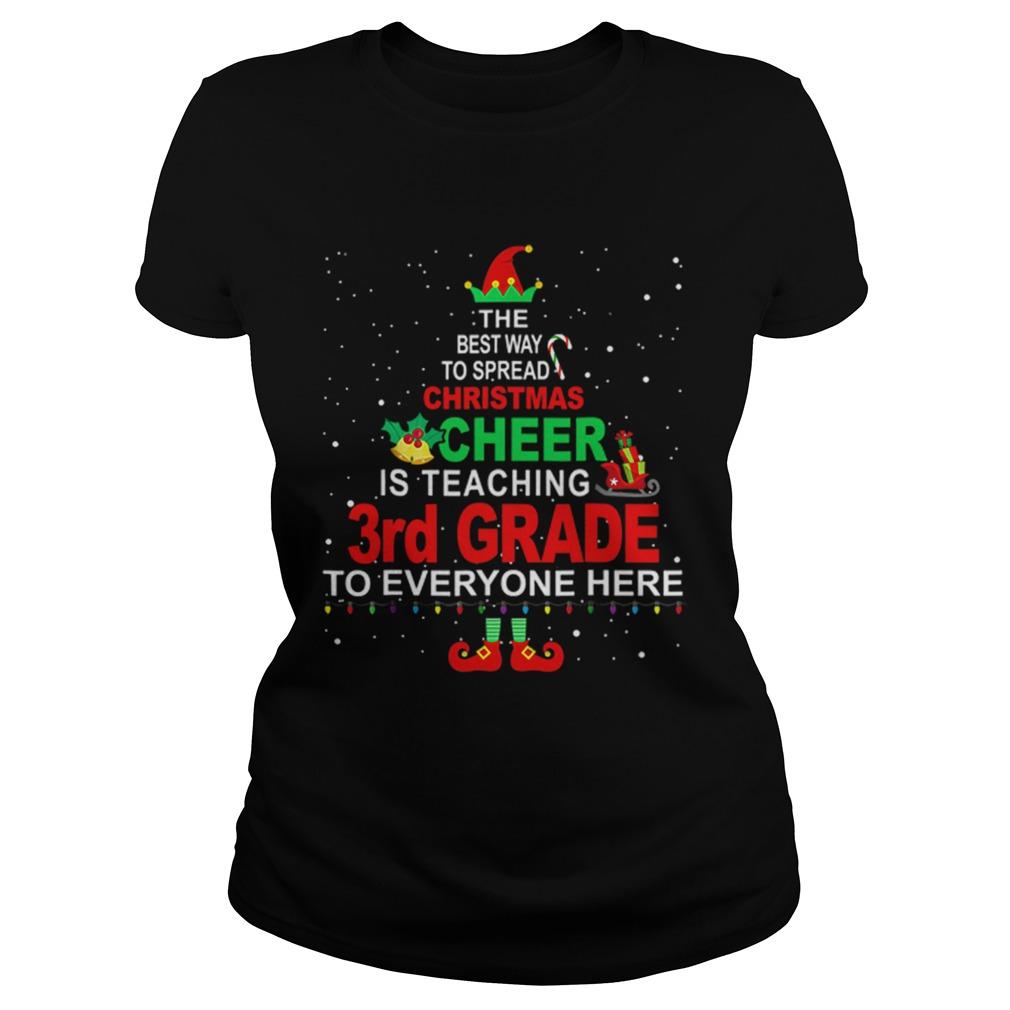 Elf Christmas Cheer is teaching 3rd Grade to everyone here  Classic Ladies