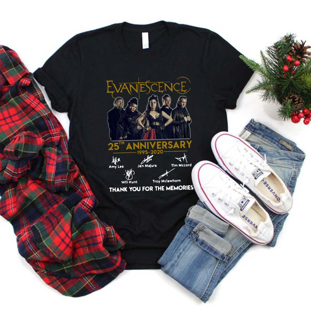 Evanescence 25th Anniversary shirt