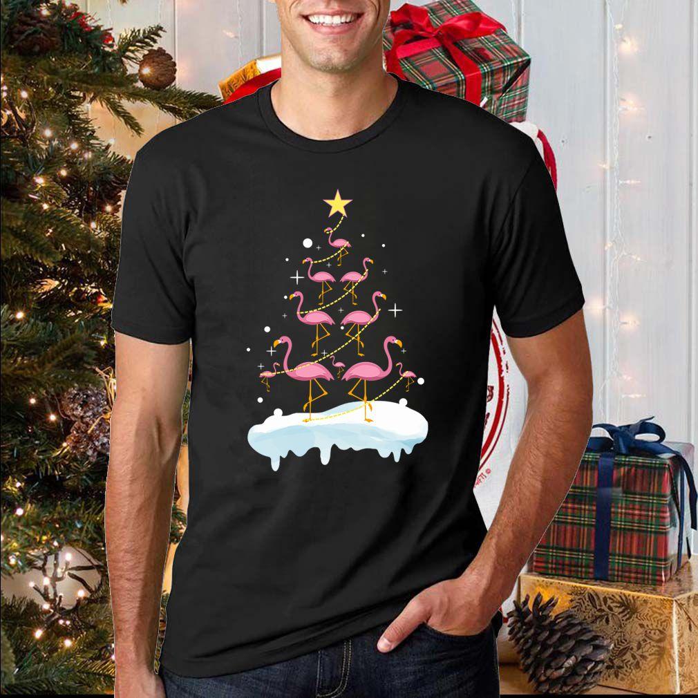 Flamingo Christmas T-Shirt