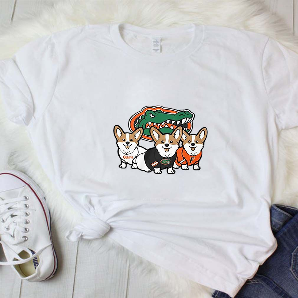 Florida Gators And Corgi shirt