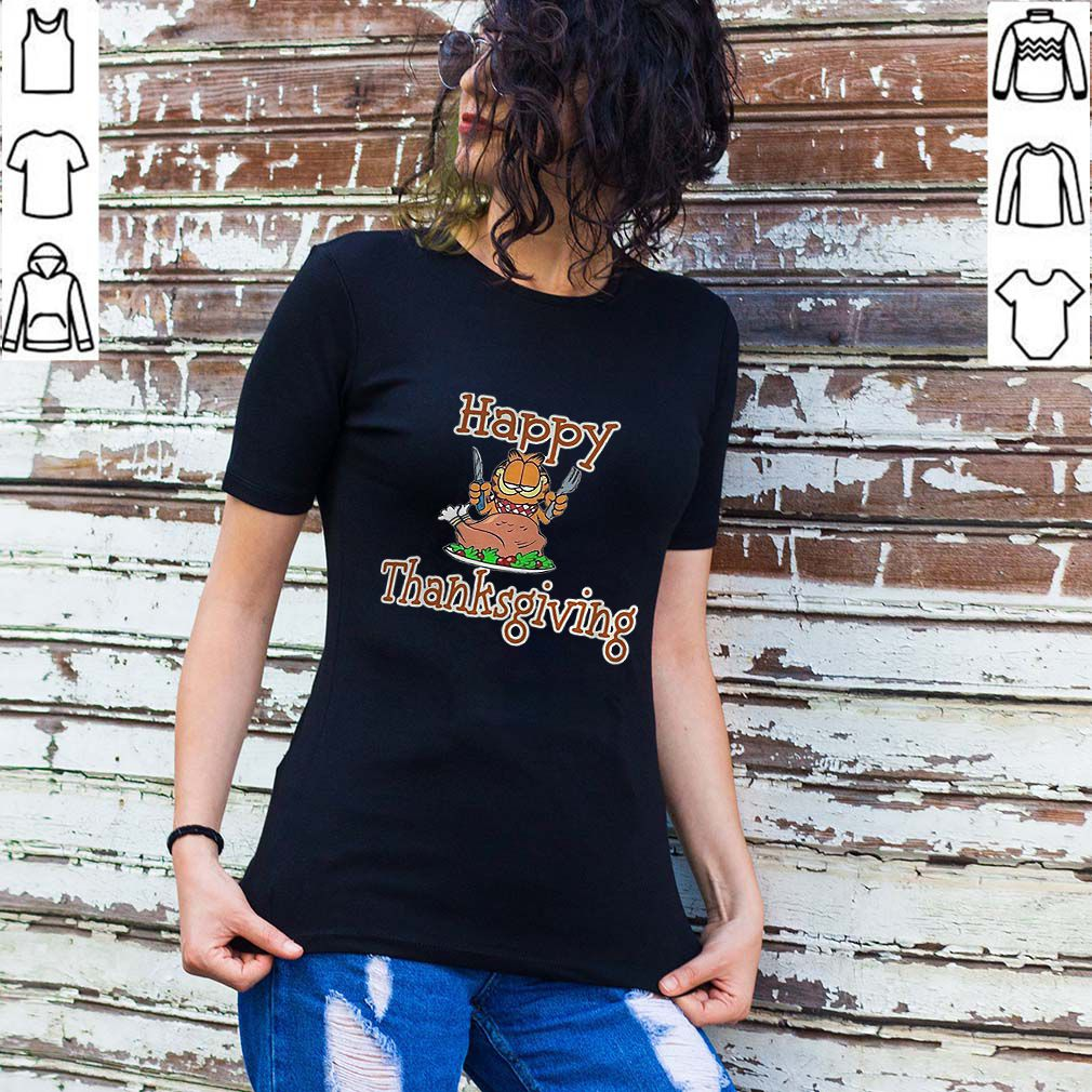 Garfield happy thanksgiving shirt