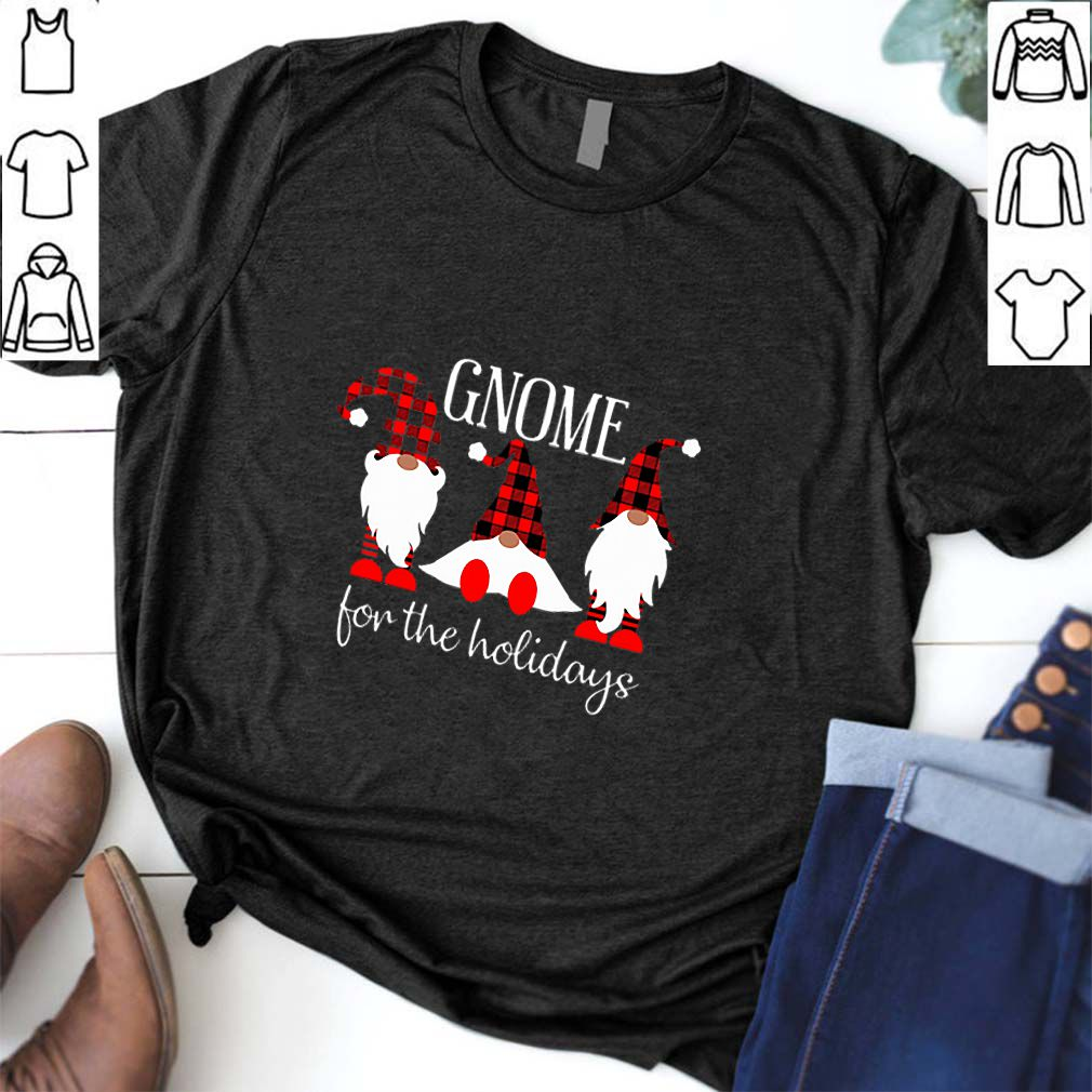 Gnome for the holidays shirt