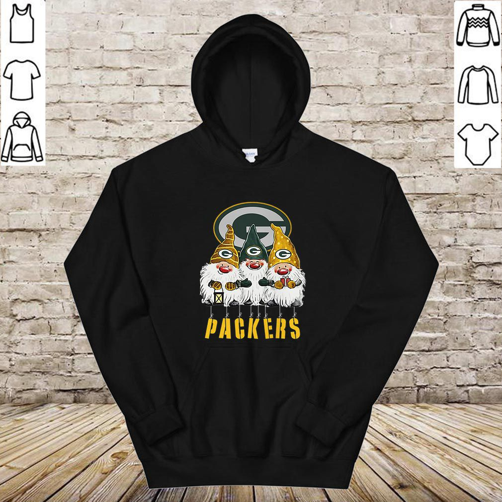 Green Bay Packers Just Hangin with My Gnomies shirt