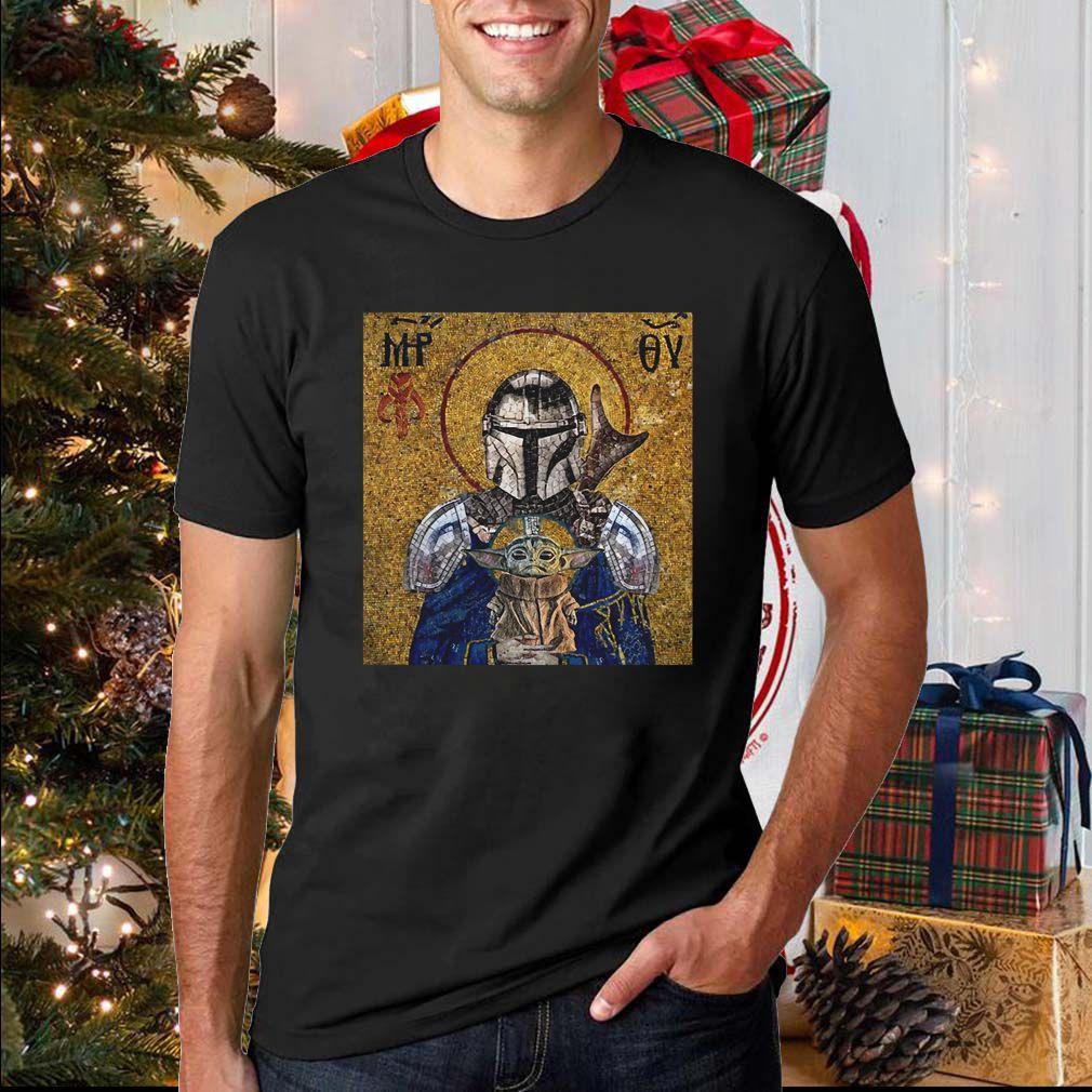 Hagia Sophia Knight And Baby Yoda Shirt