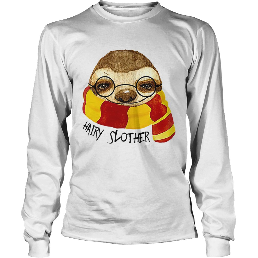 Hairy Slother Sloth Lovers  LongSleeve