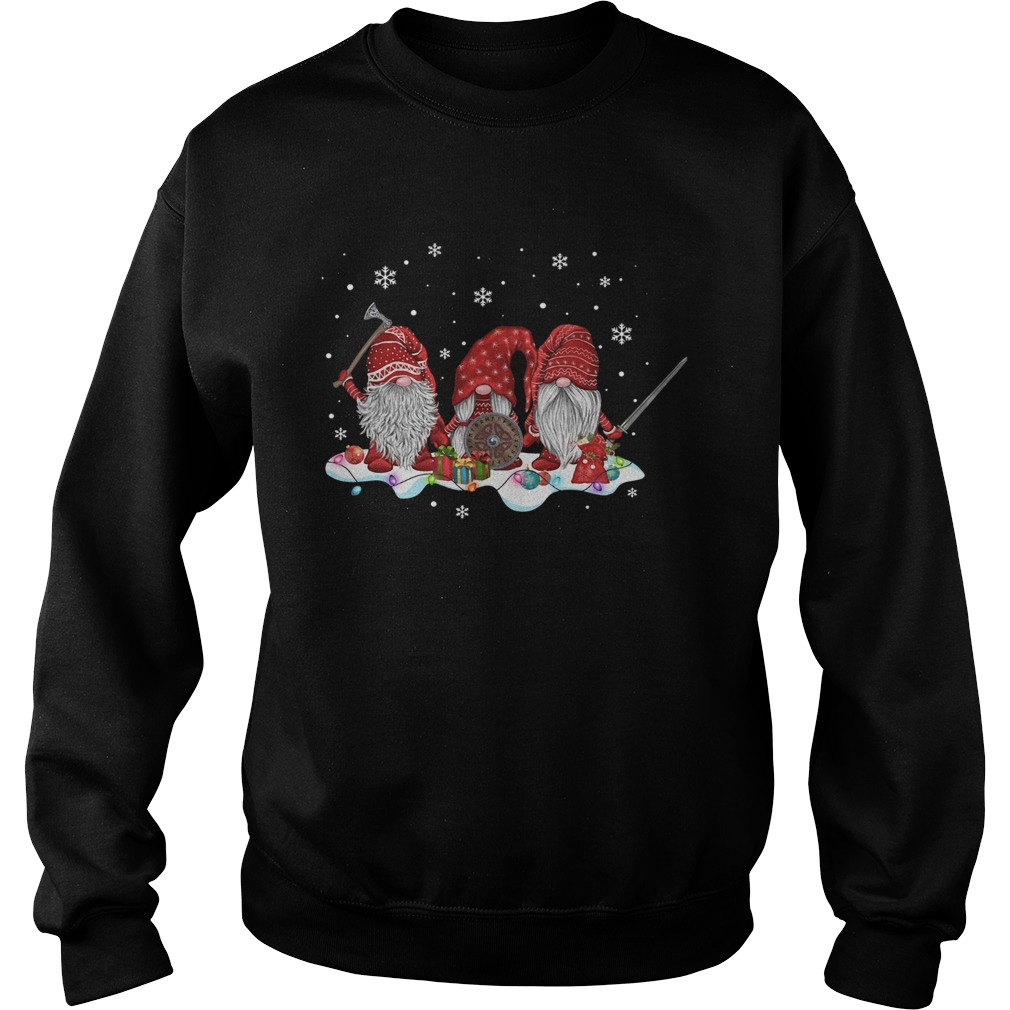 Hanging With Red Gnomies Viking  Sweatshirt